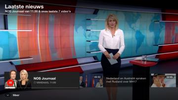 Ondersteuning nieuwe smart-tv-apps NOS